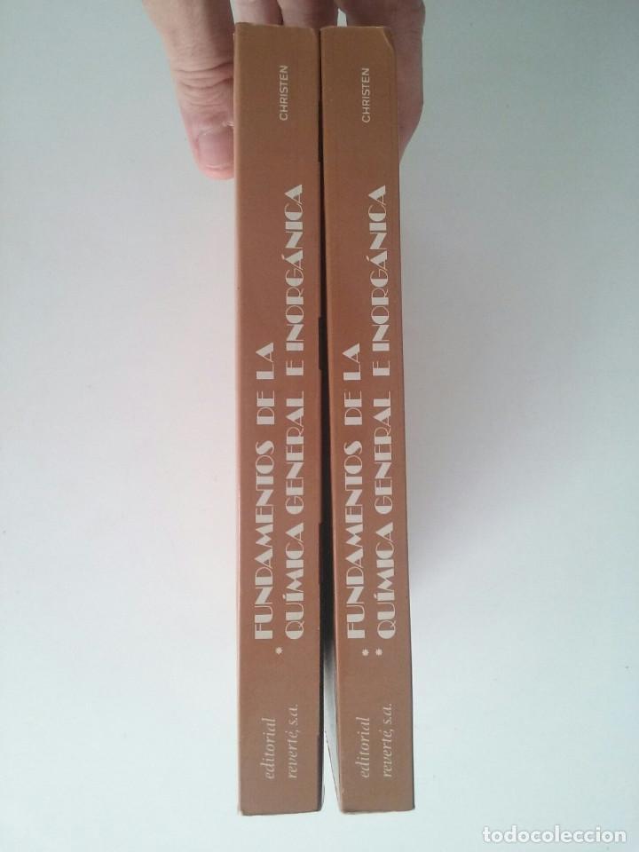 Libros de segunda mano de Ciencias: FUNDAMENTOS DE LA QUÍMICA GENERAL E INORGÁNICA (2 TOMOS) - HANS RUDOLF CHRISTEN - Foto 2 - 101974699