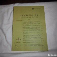 Libros de segunda mano: TRABAJOS DE GEOLOGIA Nº 16.FACULTAD DE GEOLOGIA UNIVERSIDAD DE OVIEDO 1979. Lote 102025363