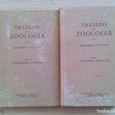 Libros de segunda mano: TRATADO DE ZOOLOGIA - 2 TOMOS. Lote 102787659