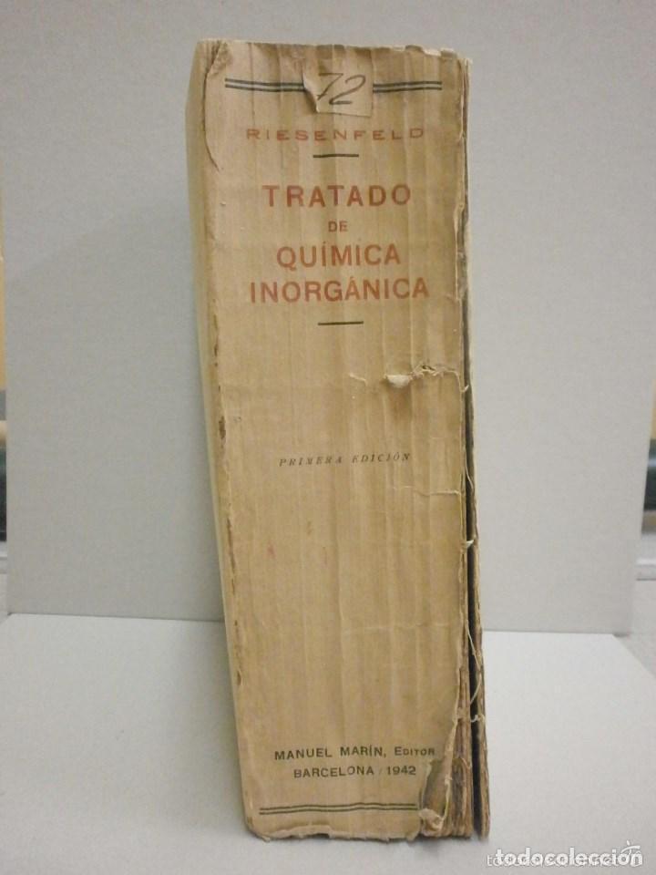 Libros de segunda mano de Ciencias: Tratado de Química inorganica Manuel Marin 1942. - Foto 2 - 103221735