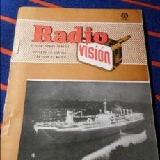 Libros de segunda mano de Ciencias: RADIO VISION. REVISTA TECNICA MENSUAL. EDITADA EN ESPAÑA PARA TODO EL MUNDO. AÑO V. JULIO 1956. NUM.. Lote 103235051