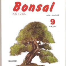 Livres d'occasion: REVISTA BONSAI ACTUAL - NÚMERO 9- 1989 - PERFECTO ESTADO. Lote 103254663