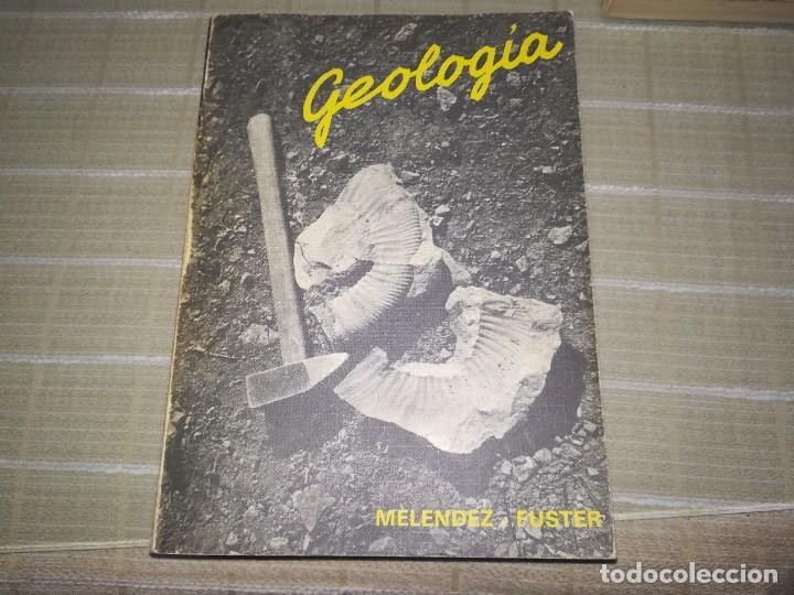 GEOLOGÍA POR BERMUDO MELÉNDEZ Y JOSÉ MARÍA FUSTER DE PARANINFO EN MADRID 1978 4ª EDICIÓN (Libros de Segunda Mano - Ciencias, Manuales y Oficios - Paleontología y Geología)