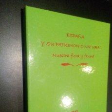 Libros de segunda mano: ESPAÑA Y SU PATRIMONIO NATURAL NUESTRA FLORA Y FAUNA / 4 DVD. Lote 103661003
