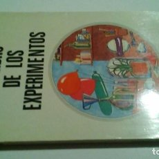 Libros de segunda mano de Ciencias: EL LIBRO DE LOS EXPERIMENTOS-DE VRIES, LEONARD-EDITORIAL ADARA-SEGUNDA EDICION REVISADA 1977. Lote 103873567