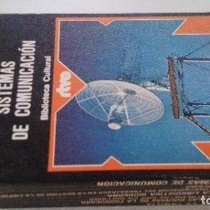 Libros de segunda mano de Ciencias: SISTEMAS DE COMUNICACION-JORGE URRUTIA-BIBLIOTECA CULTURAL RTVE-EDITORIAL PLANETA. Lote 103875395