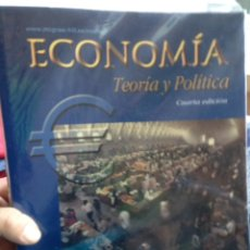 Libros de segunda mano de Ciencias: ECONOMÍA. TEORÍA Y POLÍTICA. FRANCISCO MOCHÓN.. Lote 103935040