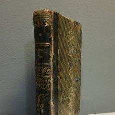 Libros de segunda mano de Ciencias: TABLAS DE LOGARITMOS PARA LOS NÚMEROS Y LOS SENOS - MADRID 1830. Lote 103985271