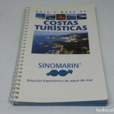 Livres d'occasion: GUIA Y MAPA DE COSTAS TURÍSTICAS 2001. Lote 104240543