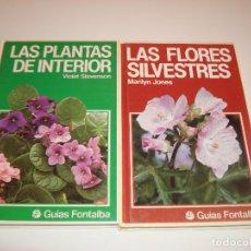 Livres d'occasion: GUIAS DE PLANTAS FONTALBA. Lote 104344675