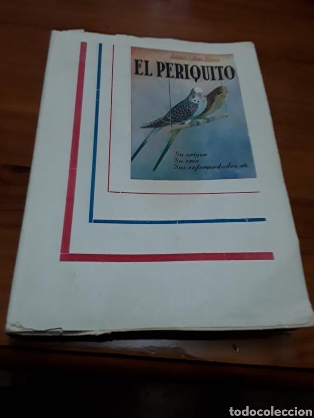 EL PERIQUITO ,ORIGEN CRÍA ENFERMEDADES AÑO 1954 ANTONIO Y JUAN GARAU SALVA (Libros de Segunda Mano - Ciencias, Manuales y Oficios - Biología y Botánica)