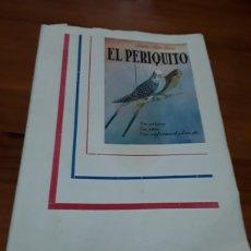 Libros de segunda mano: EL PERIQUITO ,ORIGEN CRÍA ENFERMEDADES AÑO 1954 ANTONIO Y JUAN GARAU SALVA. Lote 104451946