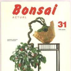 Livres d'occasion: REVISTA BONSAI ACTUAL Nº 31, 1993. Lote 104605815