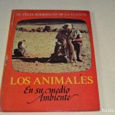 Libros de segunda mano: LOS ANIMALES DE RODRIGUEZ DE LA FUENTE. Lote 104637623
