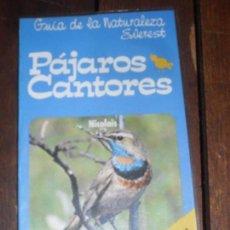 Libros de segunda mano: PAJAROS CANTORES. ESPAÑA. Lote 104898787
