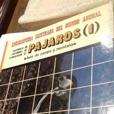 Libros de segunda mano: ENCICLOPEDIA ILUSTRADA DEL MUNDO ANIMAL.PAJAROS I.1981. Lote 105106624