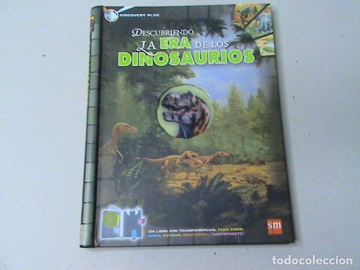 DESCUBRIENDO LA ERA DE LOS DINOSAURIOS (Libros de Segunda Mano - Ciencias, Manuales y Oficios - Paleontología y Geología)