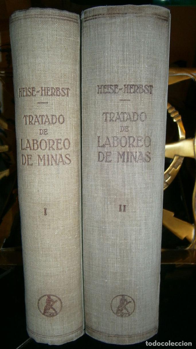 TRATADO DE LABOREO DE MINAS (Libros de Segunda Mano - Ciencias, Manuales y Oficios - Paleontología y Geología)