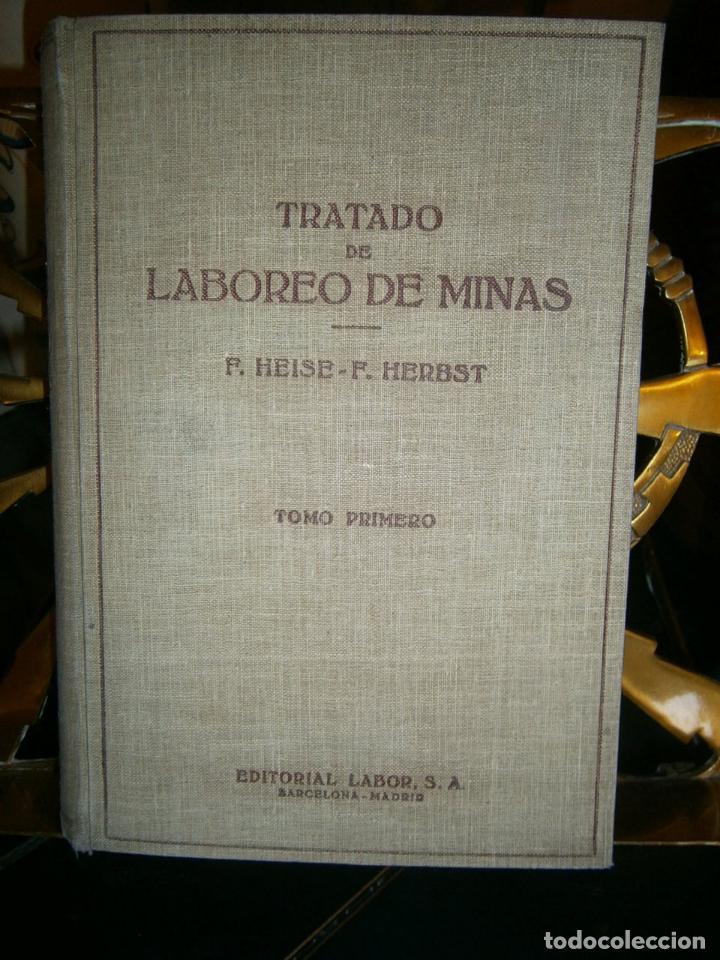 Libros de segunda mano: Tratado de laboreo de minas - Foto 2 - 105439967