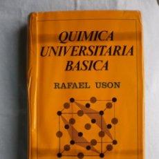 Libros de segunda mano de Ciencias: QUIMICA UNIVERSITARIA BASICA. Lote 105644003