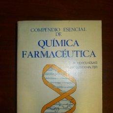 Libros de segunda mano de Ciencias: COMPENDIO ESENCIAL DE QUÍMICA FARMACÉUTICA / ANDREJUS KOROLKOVAS, JOSEPH H. BURCKHALTER. Lote 105801847