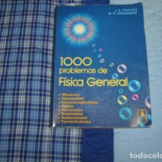 Libros de segunda mano de Ciencias: 1000 PROBLEMAS DE FISICA GENERAL. Lote 105878155