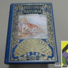 Libros de segunda mano: AREVALO, CARLOS: HISTORIA NATURAL POPULAR. Lote 105887575