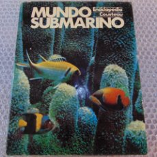 Libros de segunda mano: MUNDO SUBMARINO (COUSTEAU) VOL.2. Lote 106578799