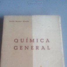 Libros de segunda mano de Ciencias: QUIMICA GENERAL - EMILIO MORENO ALCAÑIZ - ZARAGOZA 1954. Lote 106897683