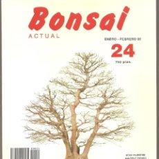 Livres d'occasion: REVISTA BONSAI ACTUAL Nº 24 - ENE-FEB 1992. Lote 107273783