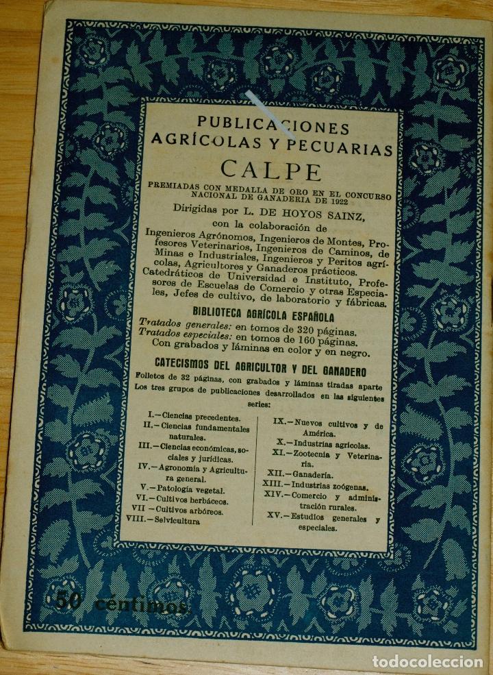 Libros de segunda mano: ACEQUIAS Y REGUERAS. CATECISMOS DEL AGRICULTOR Y GANADERO. Nº 122 - Foto 3 - 107348359