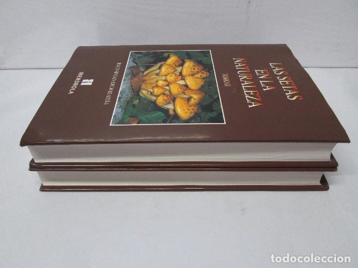 Libros de segunda mano: LAS SETAS EN LA NATURALEZA. TOMO I Y II. RAMON MANDAZA DE ACUÑA. IBERDROLA 1994 Y 1996. VER FOTOS - Foto 4 - 107593479