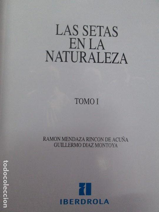 Libros de segunda mano: LAS SETAS EN LA NATURALEZA. TOMO I Y II. RAMON MANDAZA DE ACUÑA. IBERDROLA 1994 Y 1996. VER FOTOS - Foto 8 - 107593479