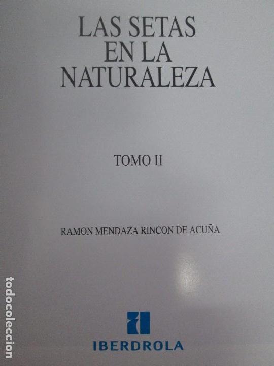 Libros de segunda mano: LAS SETAS EN LA NATURALEZA. TOMO I Y II. RAMON MANDAZA DE ACUÑA. IBERDROLA 1994 Y 1996. VER FOTOS - Foto 21 - 107593479