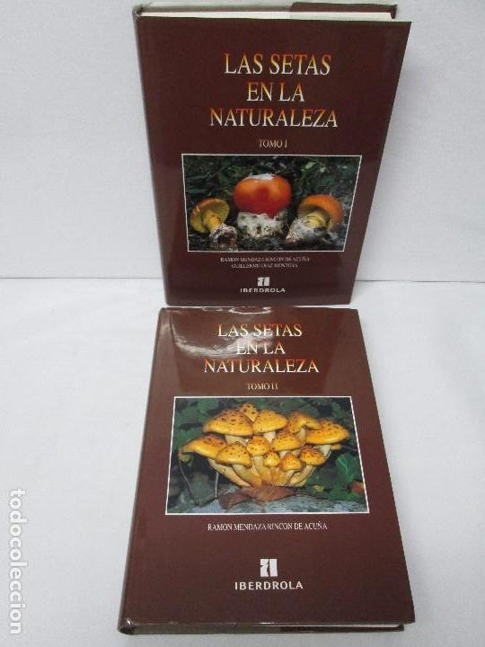 LAS SETAS EN LA NATURALEZA. TOMO I Y II. RAMON MANDAZA DE ACUÑA. IBERDROLA 1994 Y 1996. VER FOTOS (Libros de Segunda Mano - Ciencias, Manuales y Oficios - Biología y Botánica)