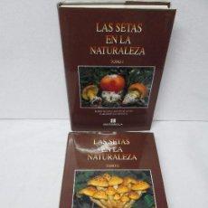 Libros de segunda mano: LAS SETAS EN LA NATURALEZA. TOMO I Y II. RAMON MANDAZA DE ACUÑA. IBERDROLA 1994 Y 1996. VER FOTOS. Lote 107593479