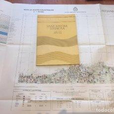 Libros de segunda mano: MAPA DE ROCAS INDUSTRIALES E. 1:200.000: SANTANDER REINOSA . HOJA 4-11 MEMORIA 5/1 5/2 1973. Lote 107708443