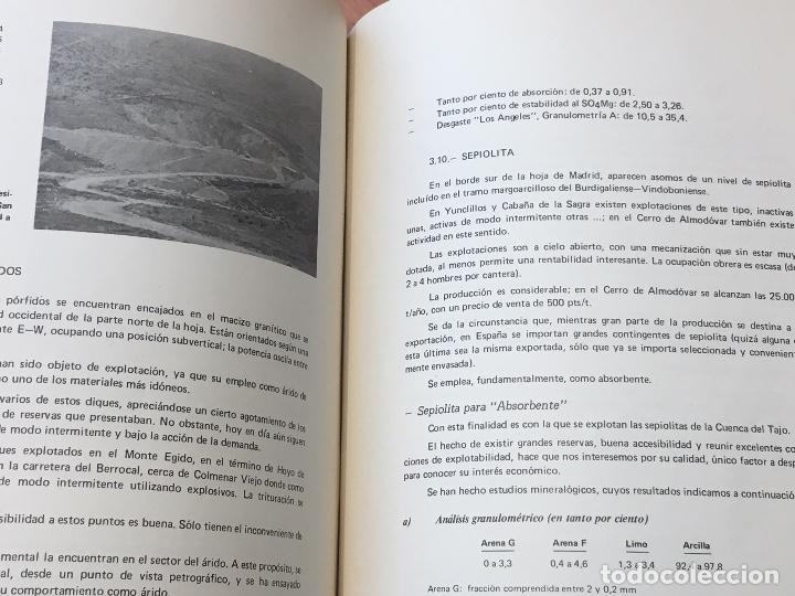 Libros de segunda mano: MAPA DE ROCAS INDUSTRIALES E. 1:200.000: MADRID . Hoja 45 memoria 5/6 INSTITUTO GEOLOGICO 1973 - Foto 4 - 107708559