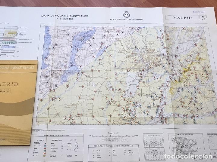 Libros de segunda mano: MAPA DE ROCAS INDUSTRIALES E. 1:200.000: MADRID . Hoja 45 memoria 5/6 INSTITUTO GEOLOGICO 1973 - Foto 5 - 107708559