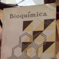 Libros de segunda mano de Ciencias: BIOQUIMICA.MILTON TOPOREK. Lote 107847754