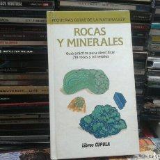 Libros de segunda mano: ROCAS Y MINERALES - LIBROS CUPULA. Lote 107885031