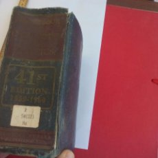 Libros de segunda mano de Ciencias: HANDBOOK OF CHEMISTRY AND PHYSICS. CHARLES D. HODGMAN.1959. COMPENDIO DE FÍSICA Y QUÍMICA. Lote 108115743