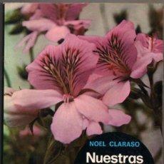 Libros de segunda mano: NUESTRAS FLORES MAS CULTIVADAS - NOEL CLARASO - ILUSTRACIONES *. Lote 108258423