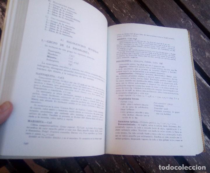 Libros de segunda mano: MINERALOGÍA DESCRIPTIVA. TOMO I. 1973. REIMPRESIÓN CESIC. VER TODAS LAS FOTOS - Foto 9 - 108384199