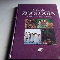 Libros de segunda mano: ATLAS DE ZOOLOGIA....EL MUNDO DE LOS ANIMALES.. .1993.... Lote 108437255