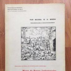 Libros de segunda mano: MAPA DE ROCAS INDUSTRIALES ESCALA 1:200.000 N 72 HOJA 7-9 ELCHE 1971 INV MINERA IGME. Lote 108703435