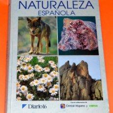 Libros de segunda mano: LIBRO ENCICLOPEDIA DE LA NATURALEZA ESPAÑOLA. DIARIO 16. Lote 108860279