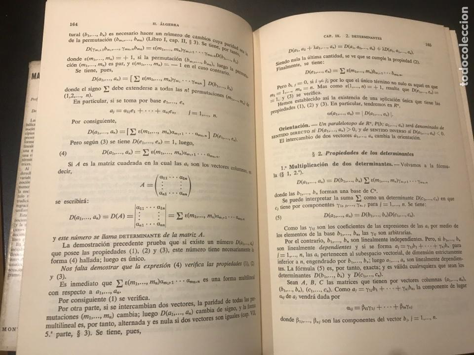 Libros de segunda mano de Ciencias: Matemáticas generales. Álgebra - análisis. C. Pisot y M. Zamansky - Foto 2 - 108904874