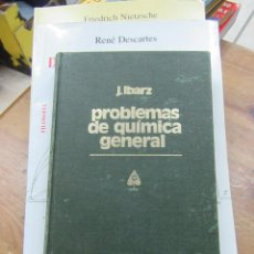 Livres d'occasion: LIBRO PROBLEMAS DE QUÍMICA EN GENERAL J. IBARZ 1981 L-4898-840. Lote 108910819