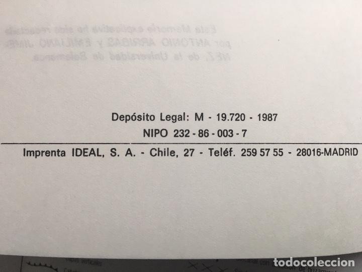 Libros de segunda mano: MAPA geológico de España - Alcañices - IGME E 1: 200.000 1987 2 edición - Foto 3 - 109108067